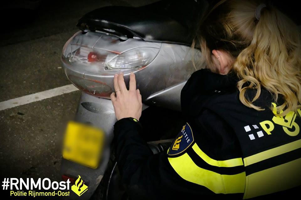 2 verdachten scooterdiefstal aangehouden na social media bericht Krimpen aan den IJssel