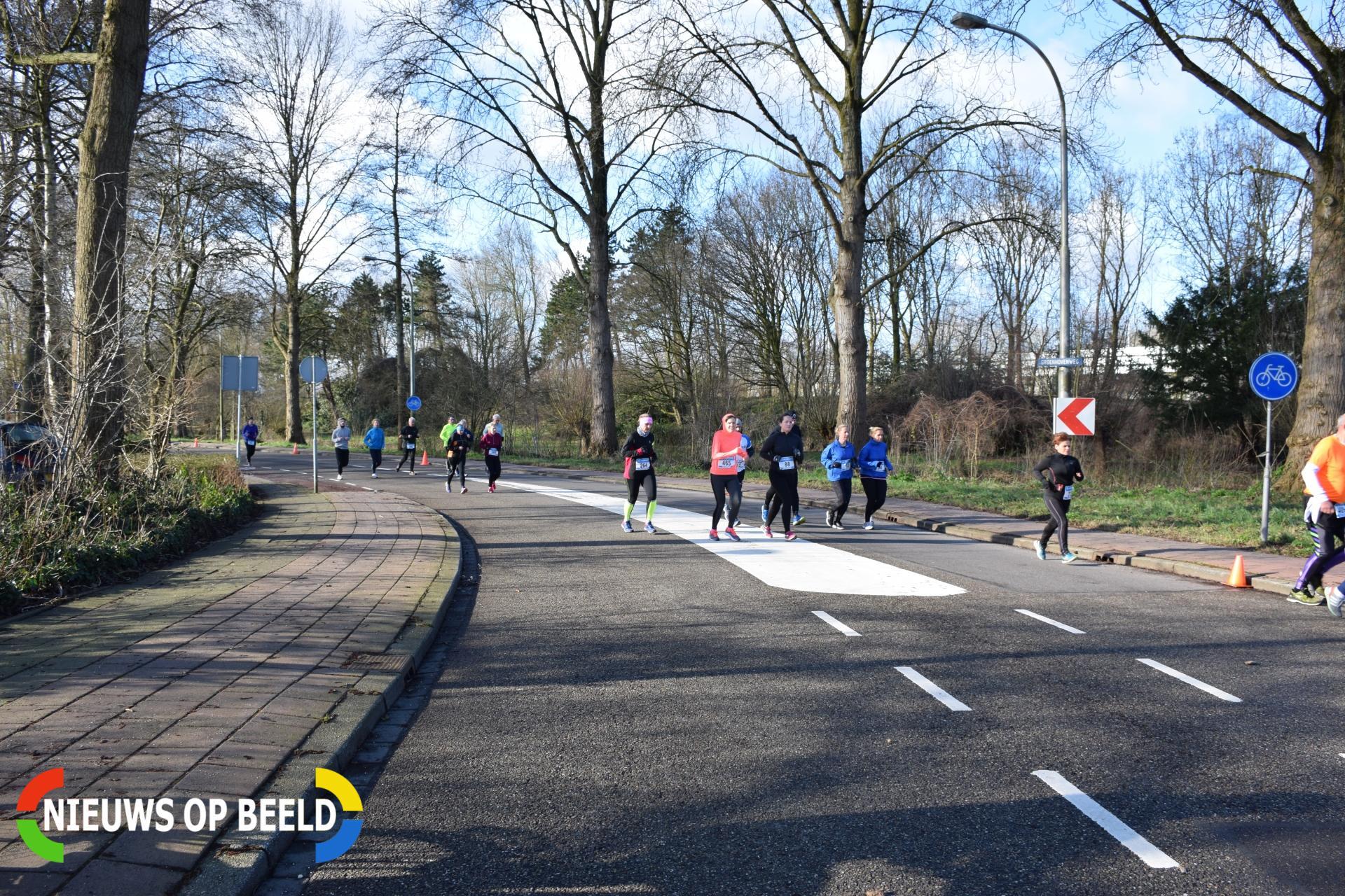 Groenhovenloop van start gegaan Groenhovenweg Gouda