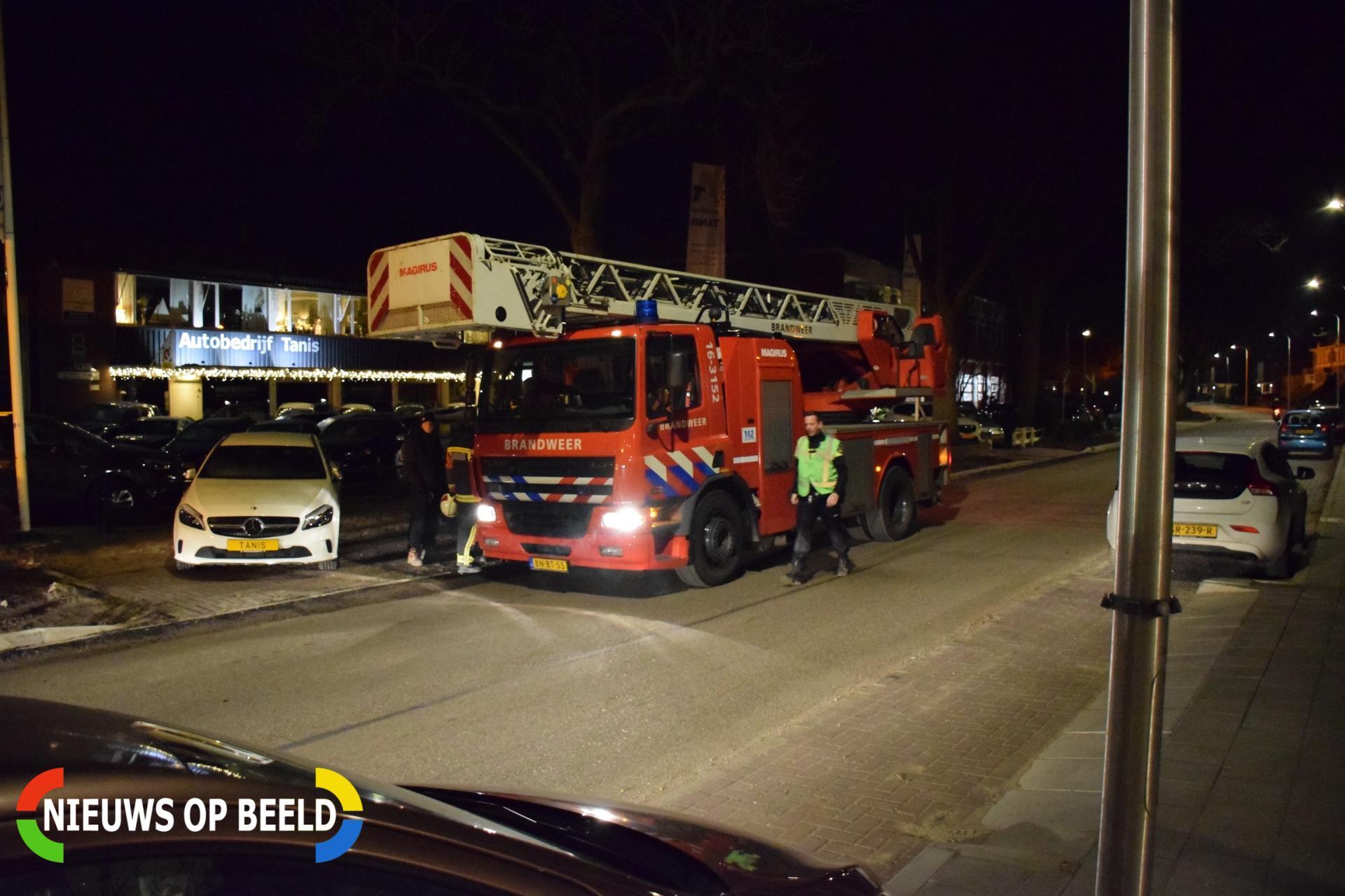 Rookontwikkeling van oefenterrein brandweer vermoedelijk oorzaak van melding gebouwbrand Noordkade Waddinxveen