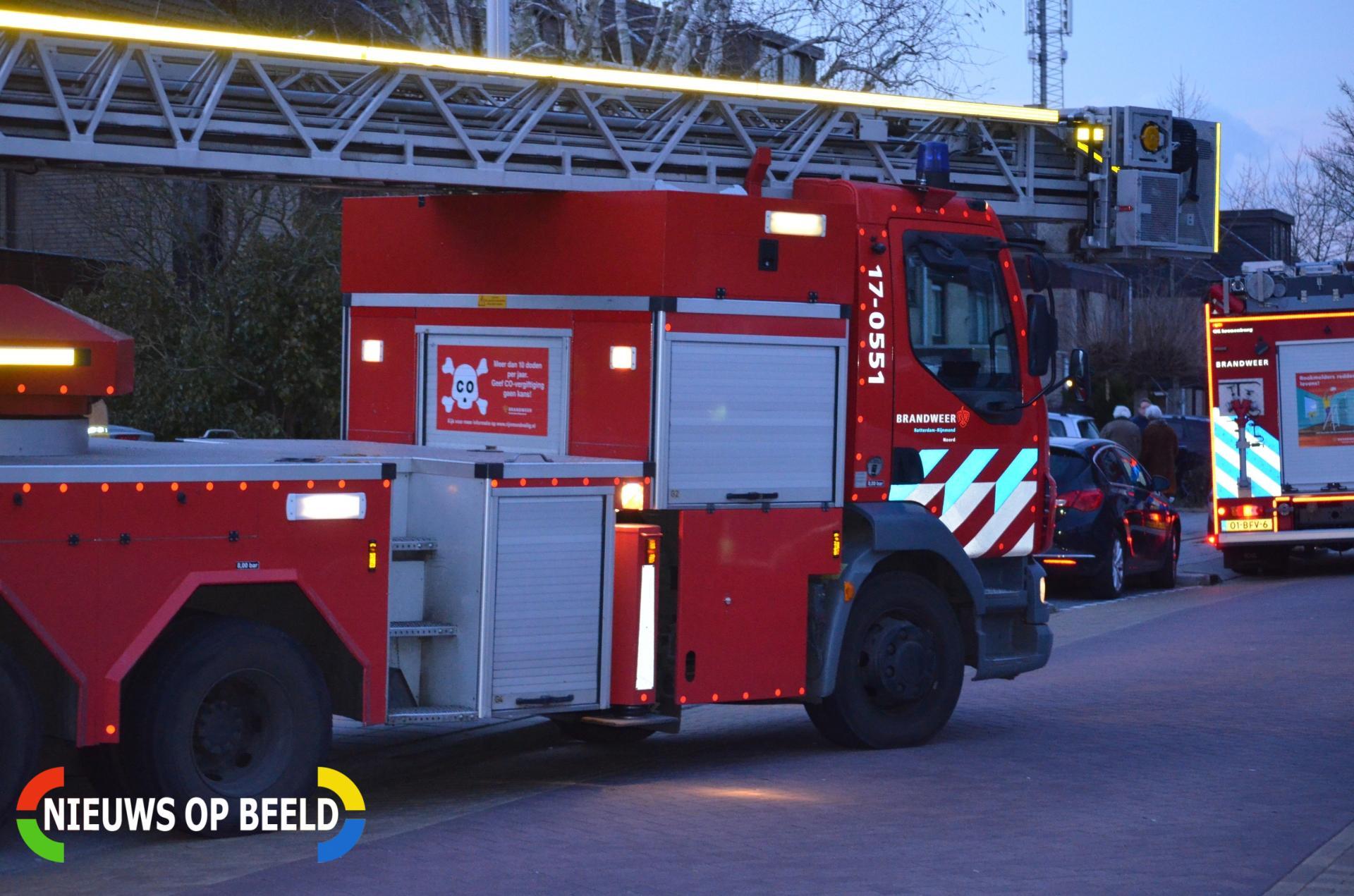 Schoorsteenbrand Sterrenweg Berkel en Rodenrijs