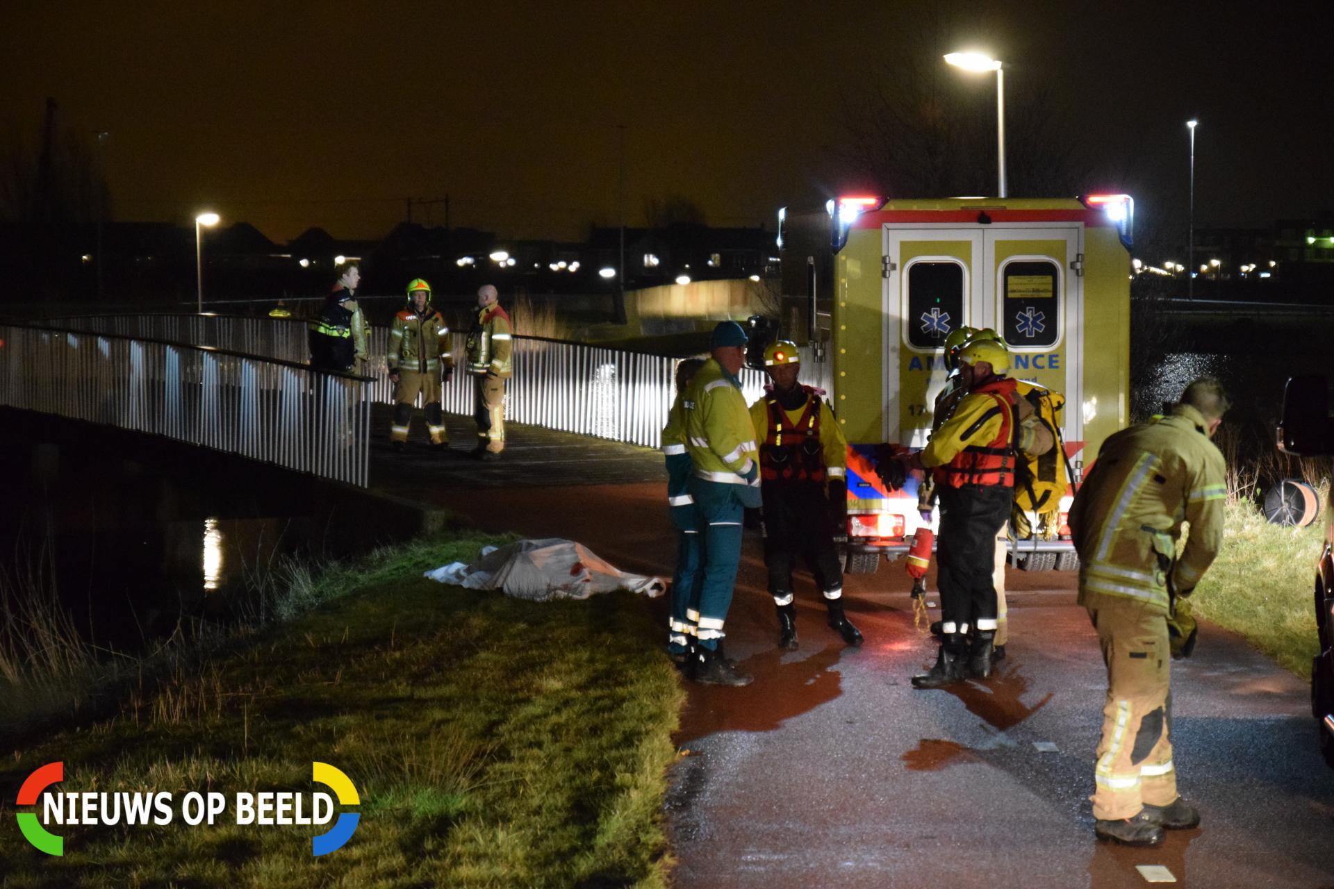 Vermiste 51-jarige vrouw omgekomen door ongeval en gevonden in water bij Bovenvaart Berkel en Rodenrijs