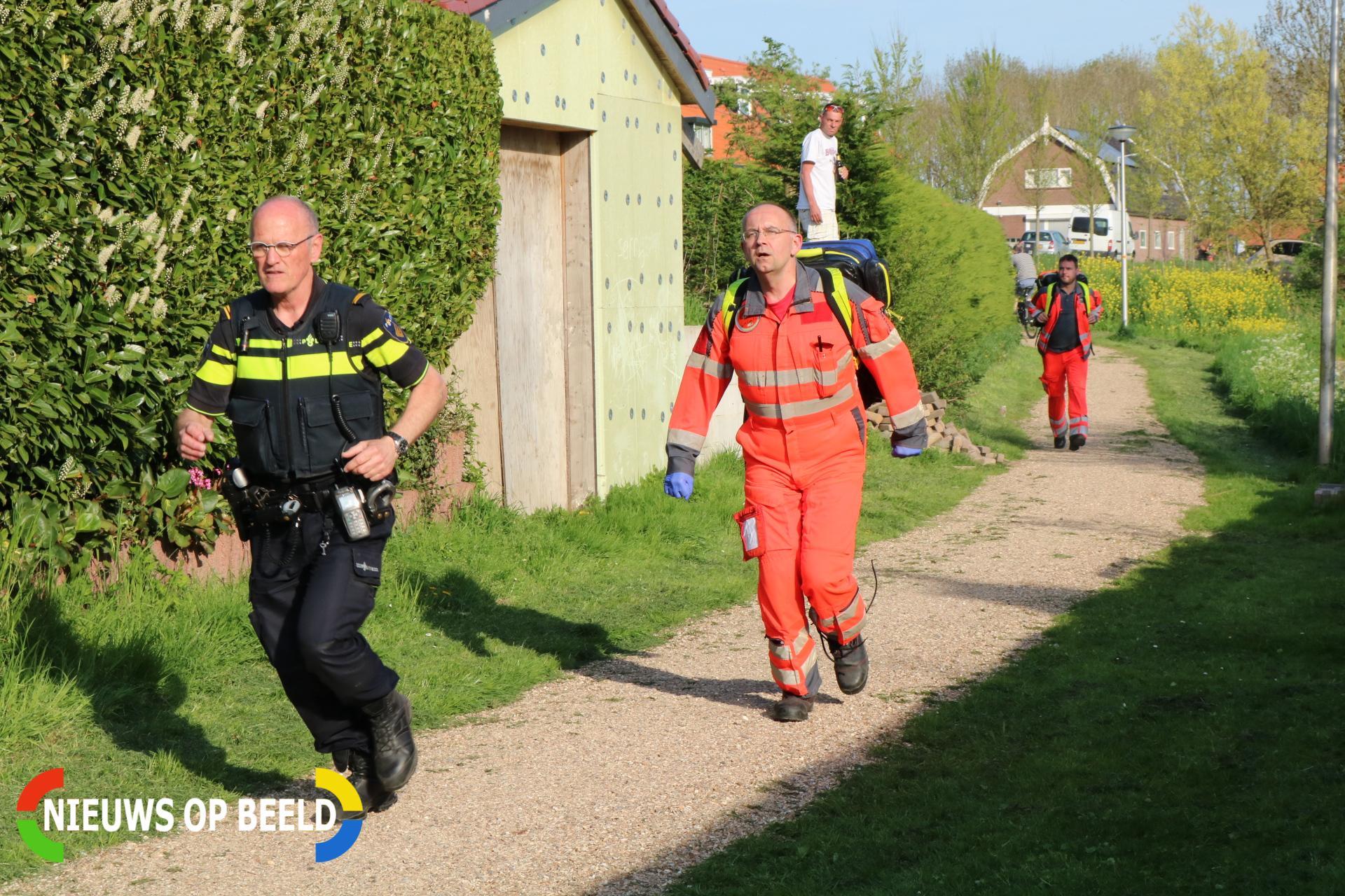 Traumahelikopter opgeroepen voor medische noodsituatie Schoolstraat Abbenbroek