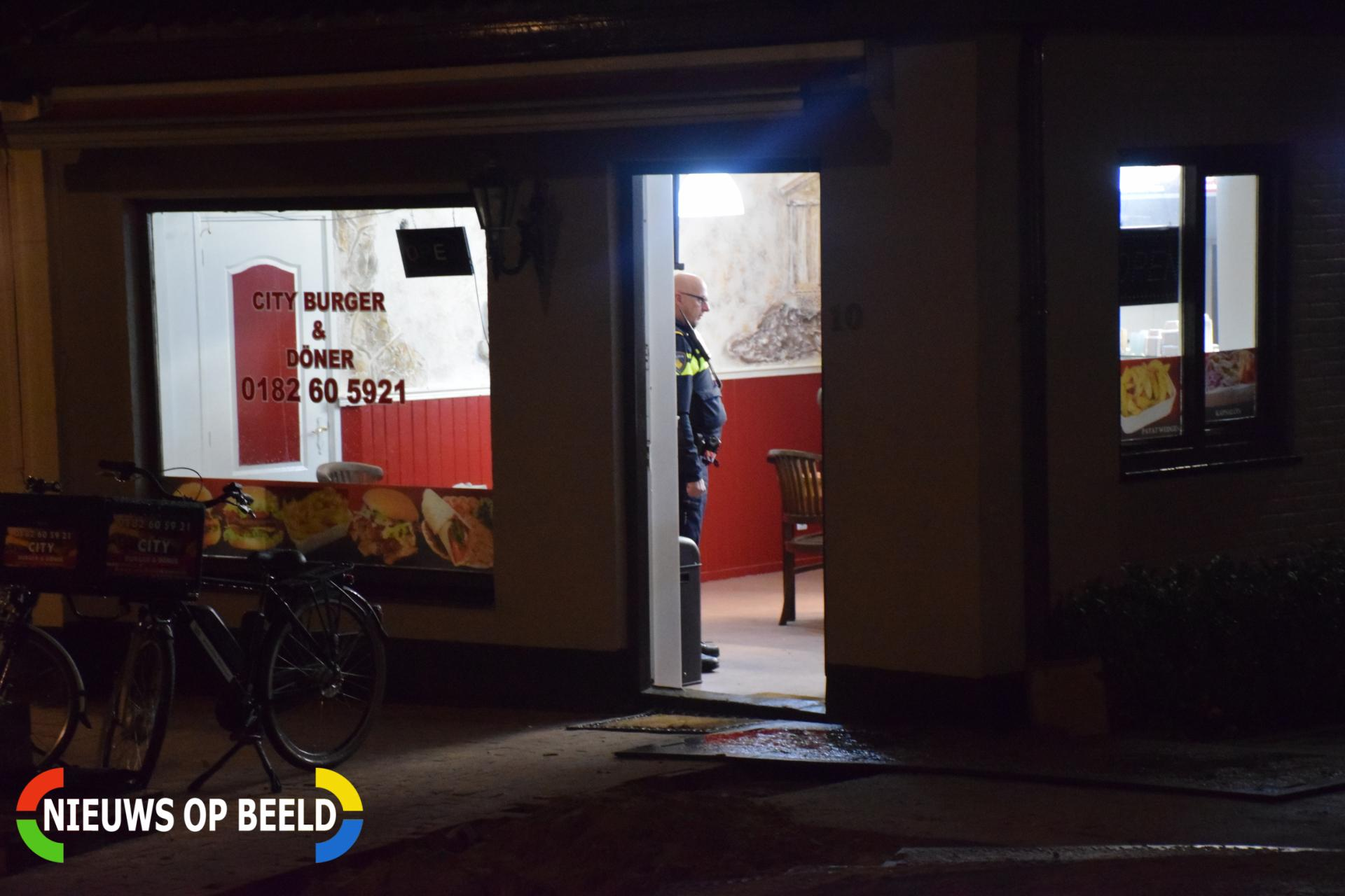 City Burger & Döner overvallen Kerkweg-West Waddinxveen