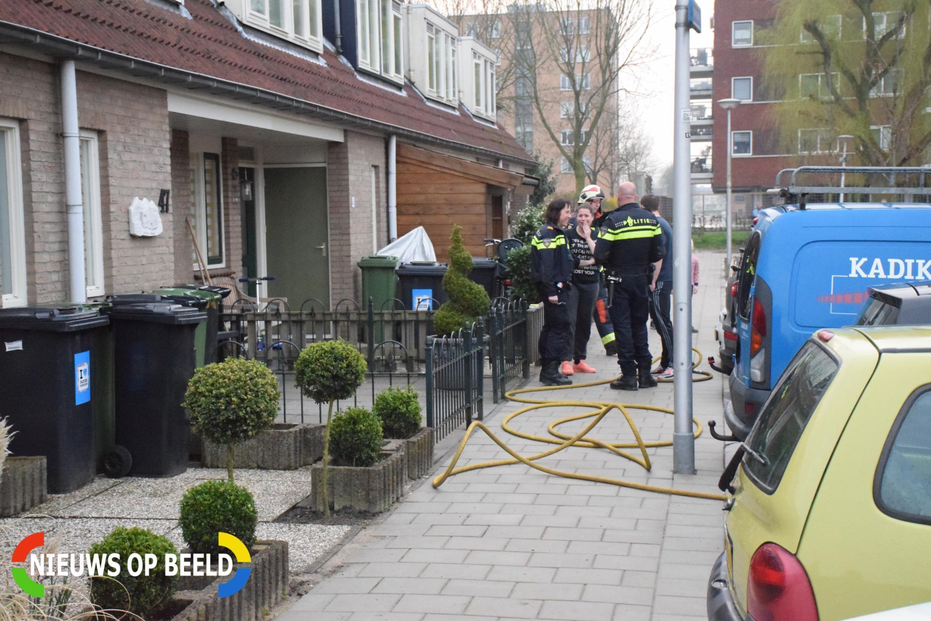 Brandweer rukt uit voor kortsluiting in meterkast Korenakker Waddinxveen