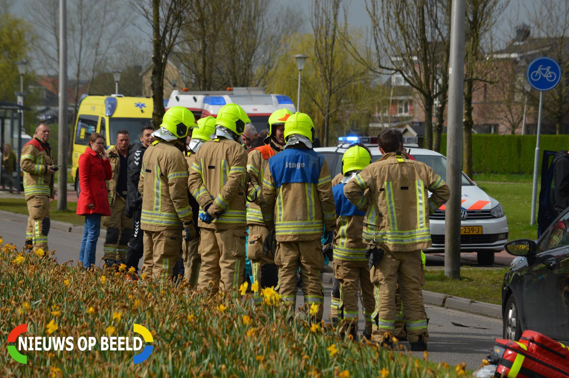 Persoon gewond bij ongeval met beknelling Klapwijkse Zoom Berkel en Rodenrijs