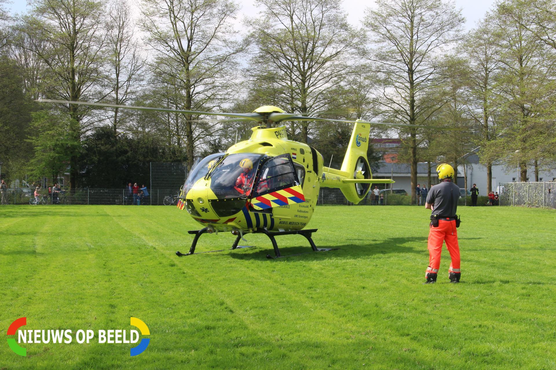 10-jarig meisje gewond door heet frituurvet op de Lijsterbeshof Papendrecht