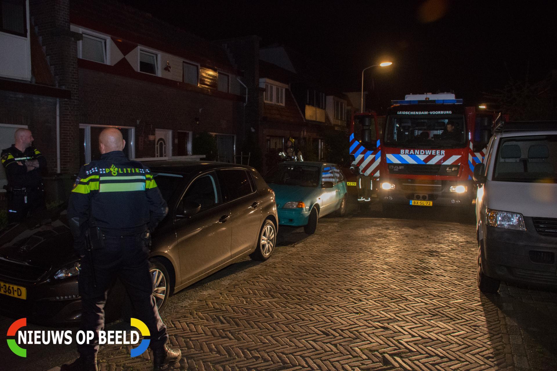 Mysterieuze brandlucht in woning Tedingerstraat Leidschendam