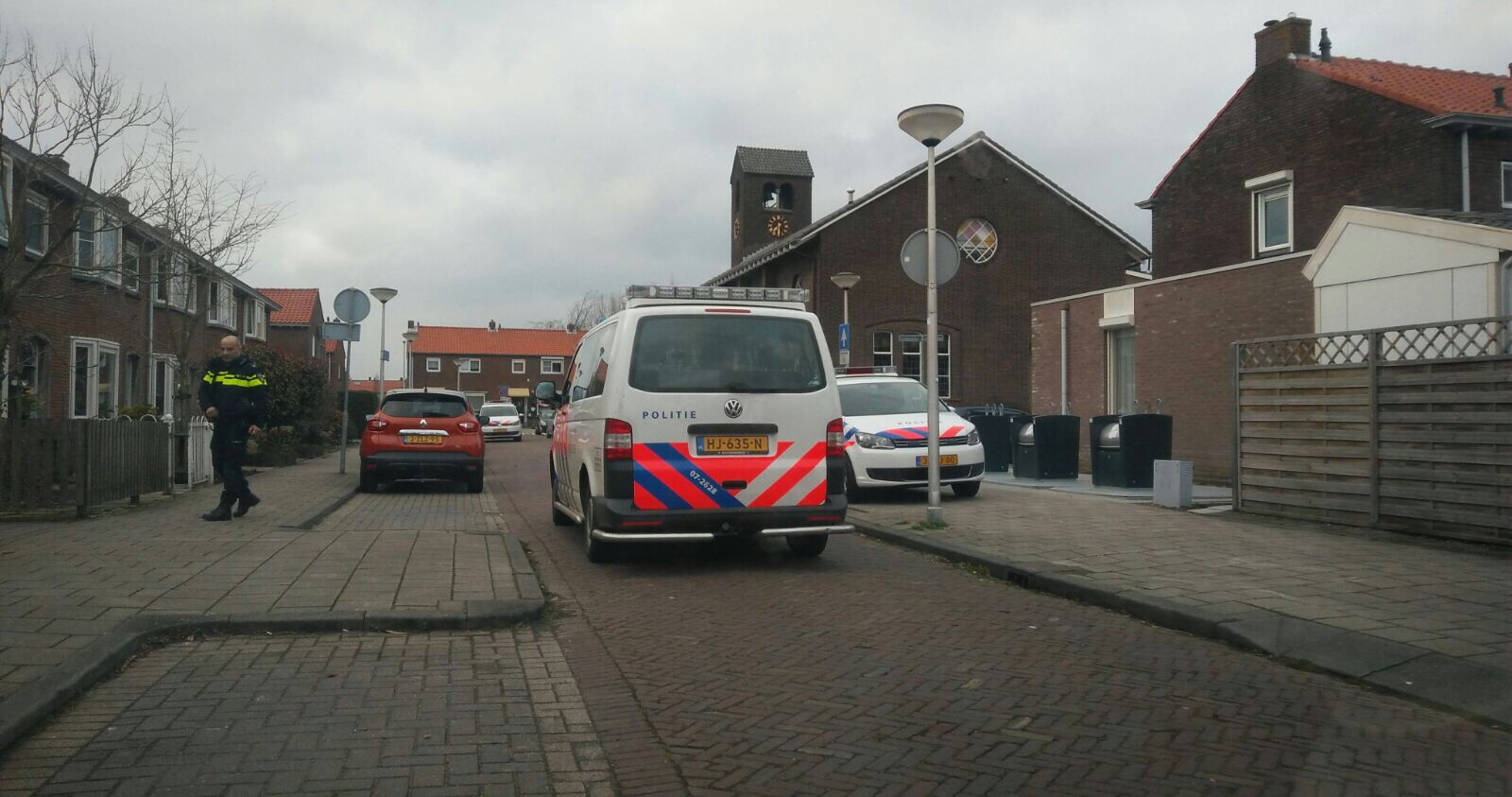 Klopjacht op verdachte na verkeersruzie in Capelle 's-Gravenland