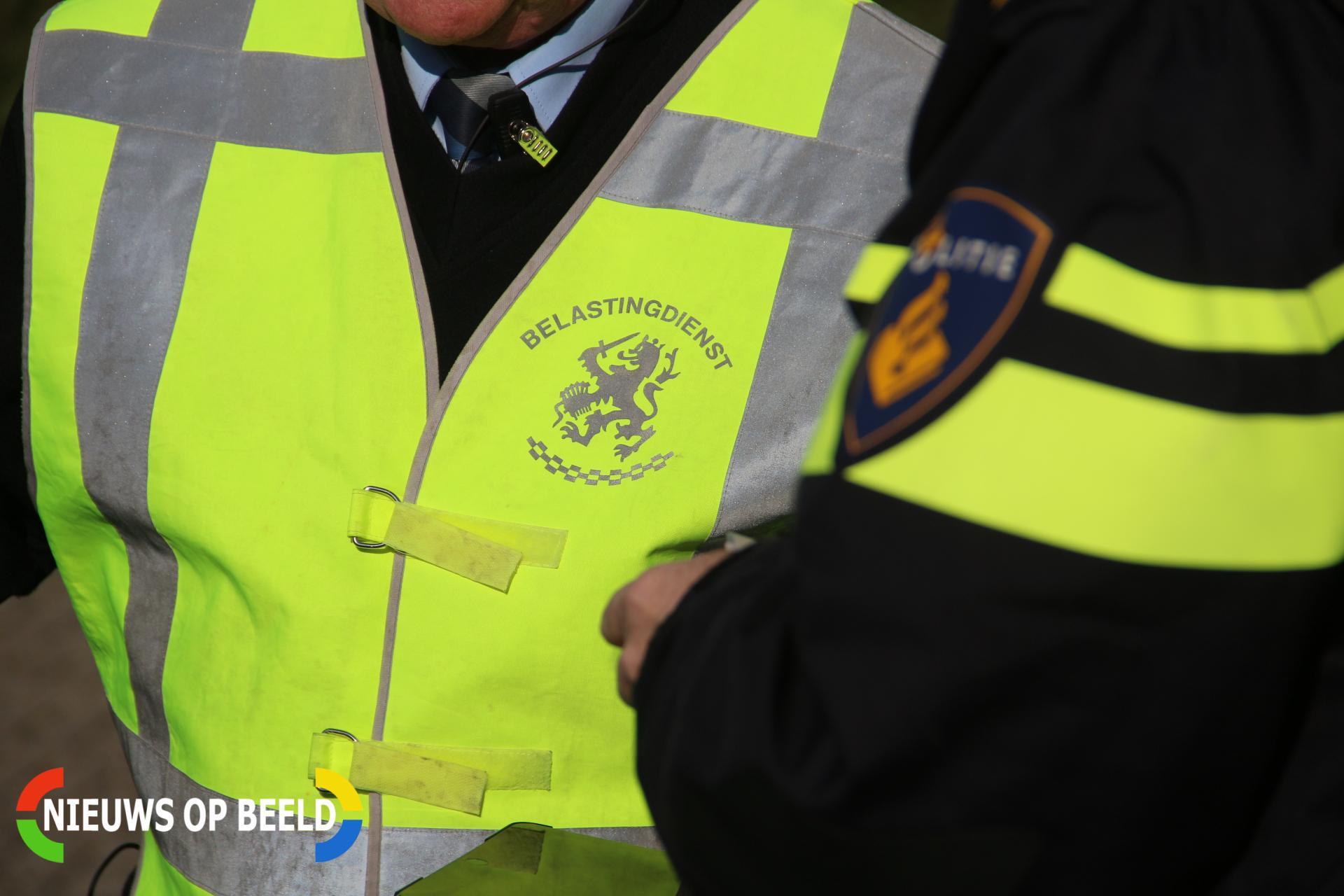 Wapens en drugs aangetroffen tijdens preventief fouilleeractie in Waalhavengebied Rotterdam
