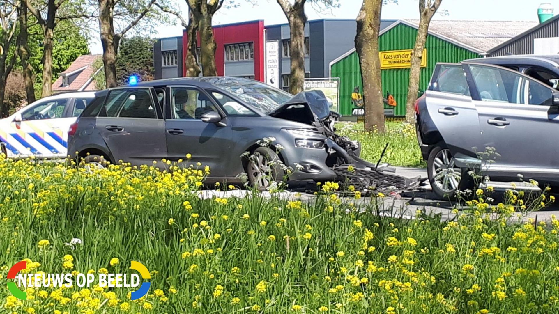 Gewonden bij kettingbotsing Schoonhovenseweg N207 Stolwijk