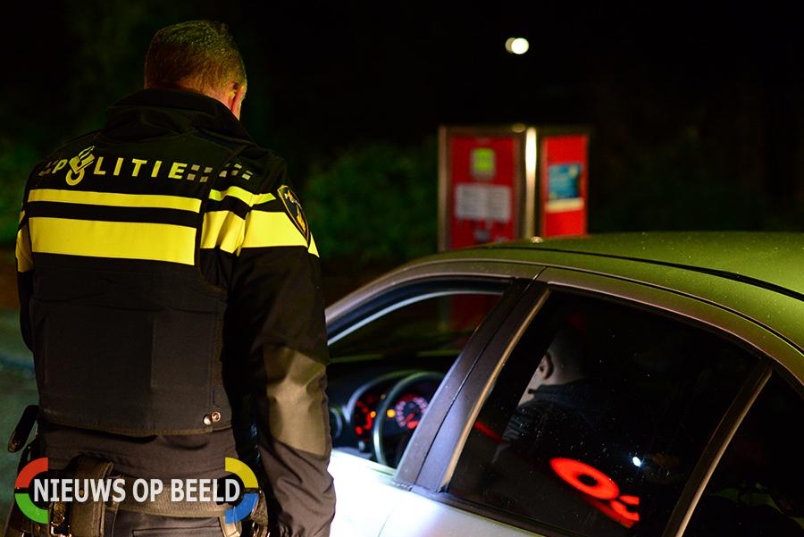 Ruim 100 automobilisten bekeurd voor rijden over vrachtwagenstrook Terbregseplein A20 Rotterdam