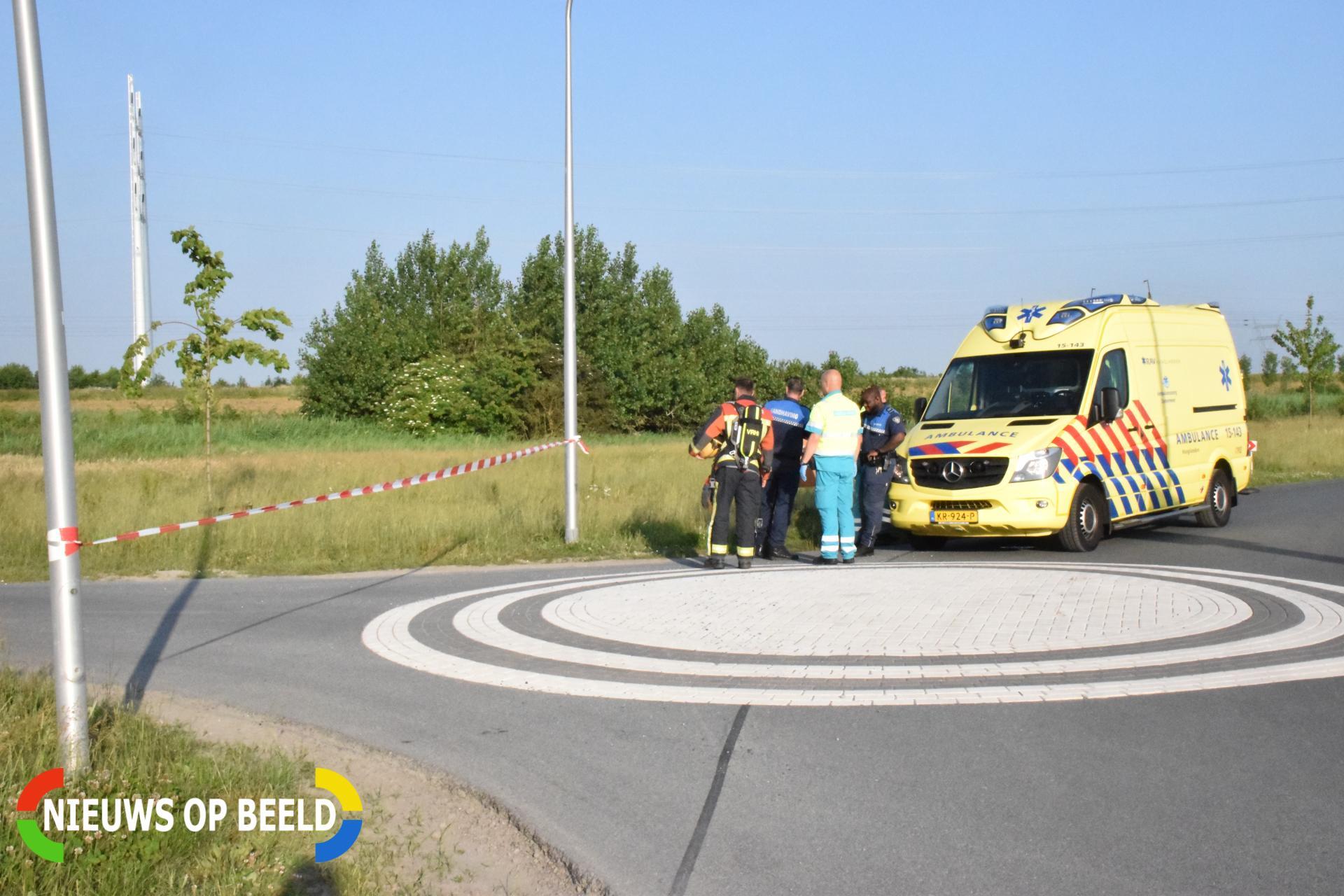 Handhaver onwel na grote vondst drugsafval Benthorn Benthuizen
