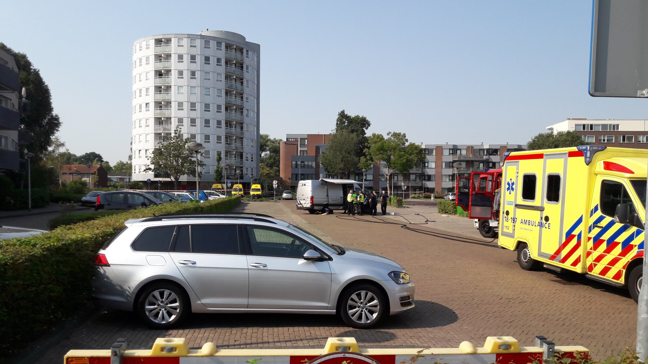 Evacuatie zorgcomplex na mislukte plofkraak Zwijndrecht