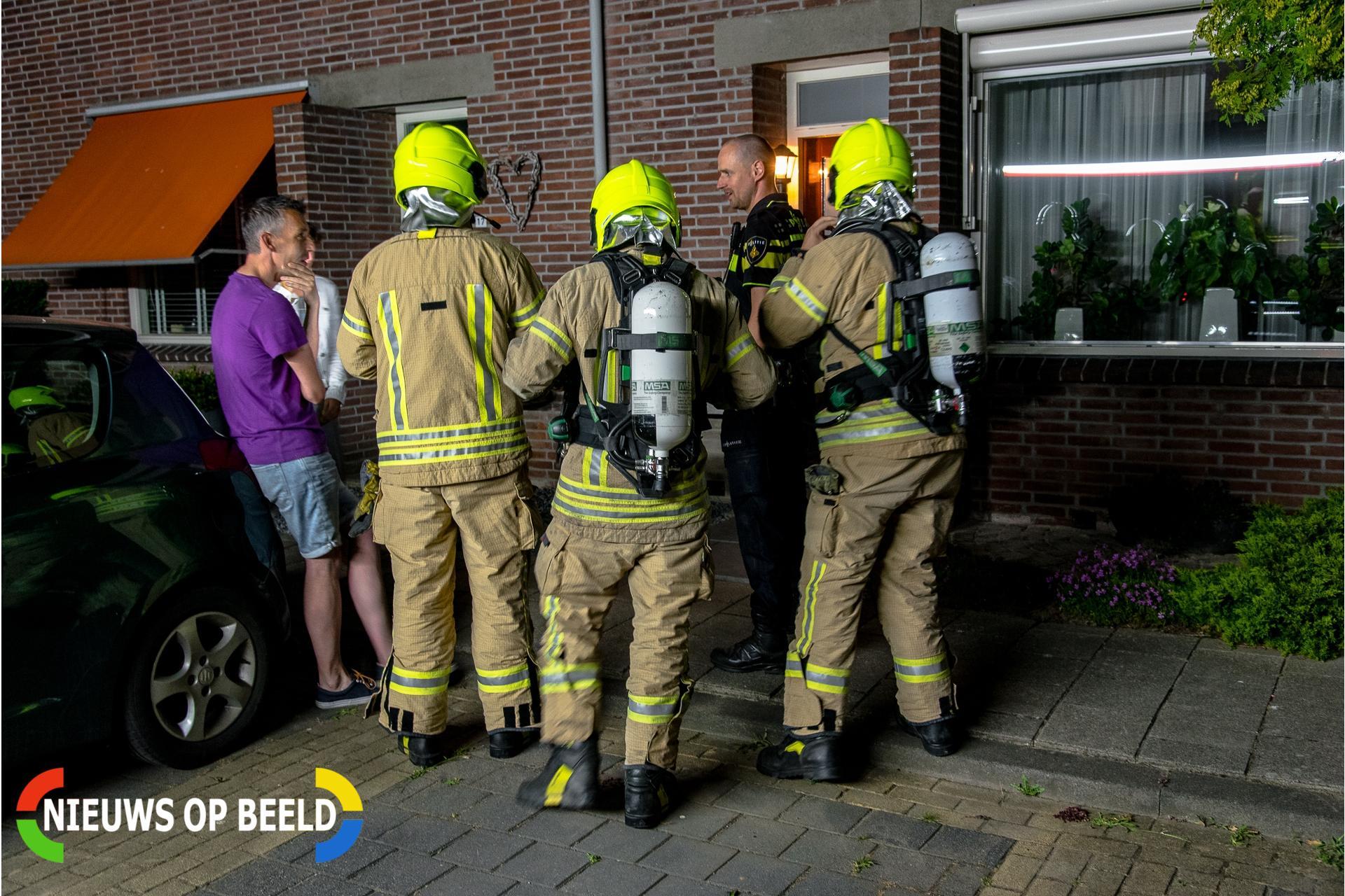 Onderzoek naar aanleiding van koolmonoxide alarm Boezemstraat Poortugaal