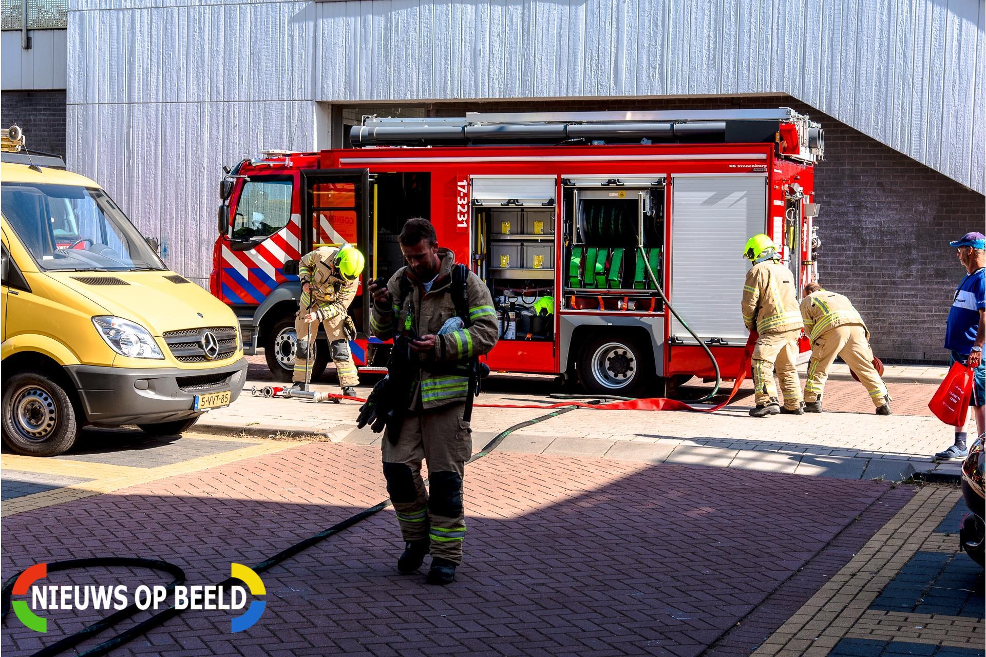 Kleine brand in bedrijfspand snel geblust Anthony van Hobokenstraat Rhoon