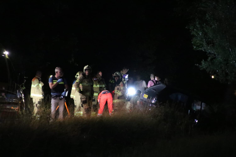 Dode en gewonde na ongeval Prinsenweg Nijkerk