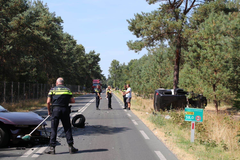 Gewonden na ernstig ongeval N310 Harderwijkerweg Otterlo