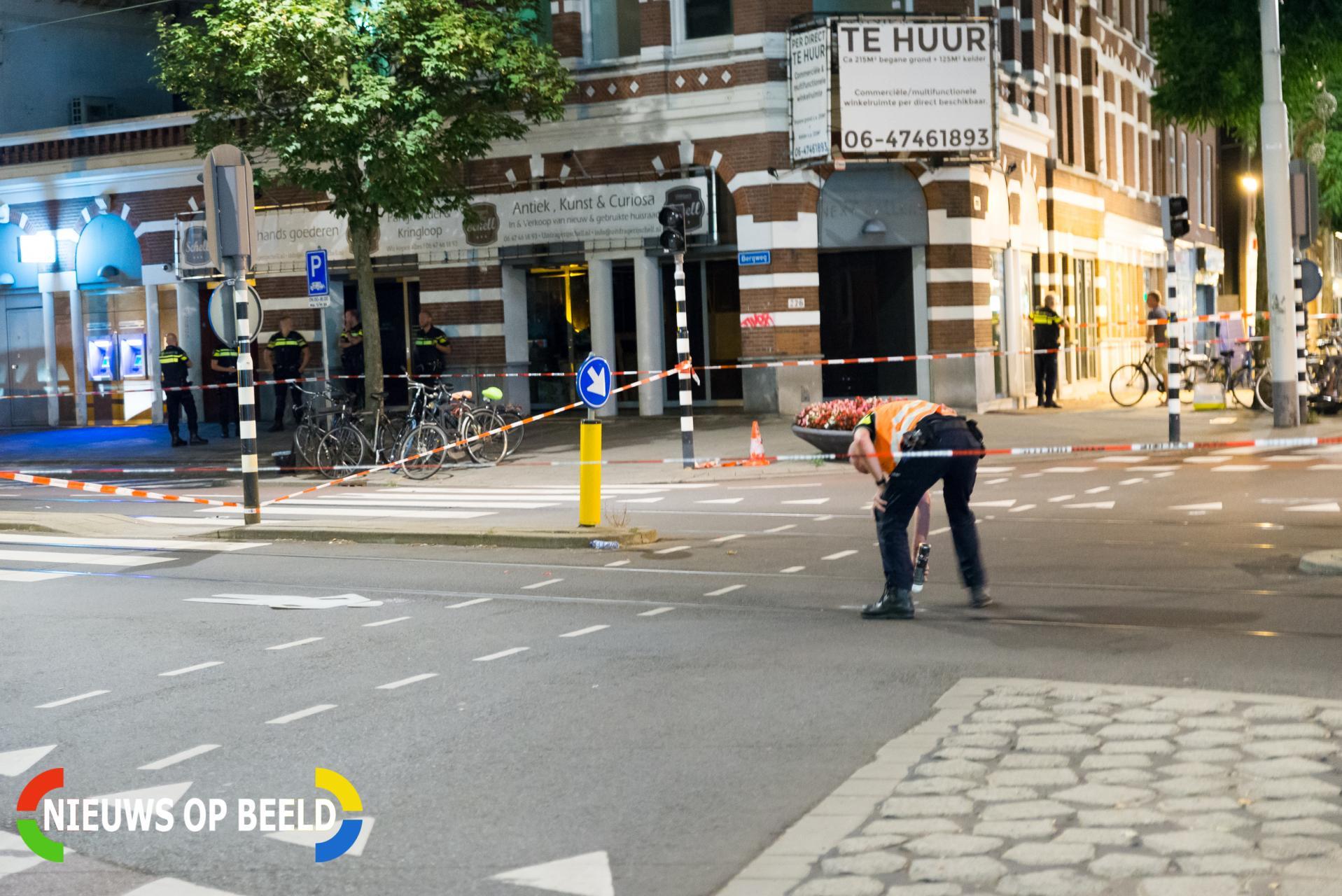 Man die voetganger doodreed ook verdacht van bedreiging met bijl Bergweg Rotterdam