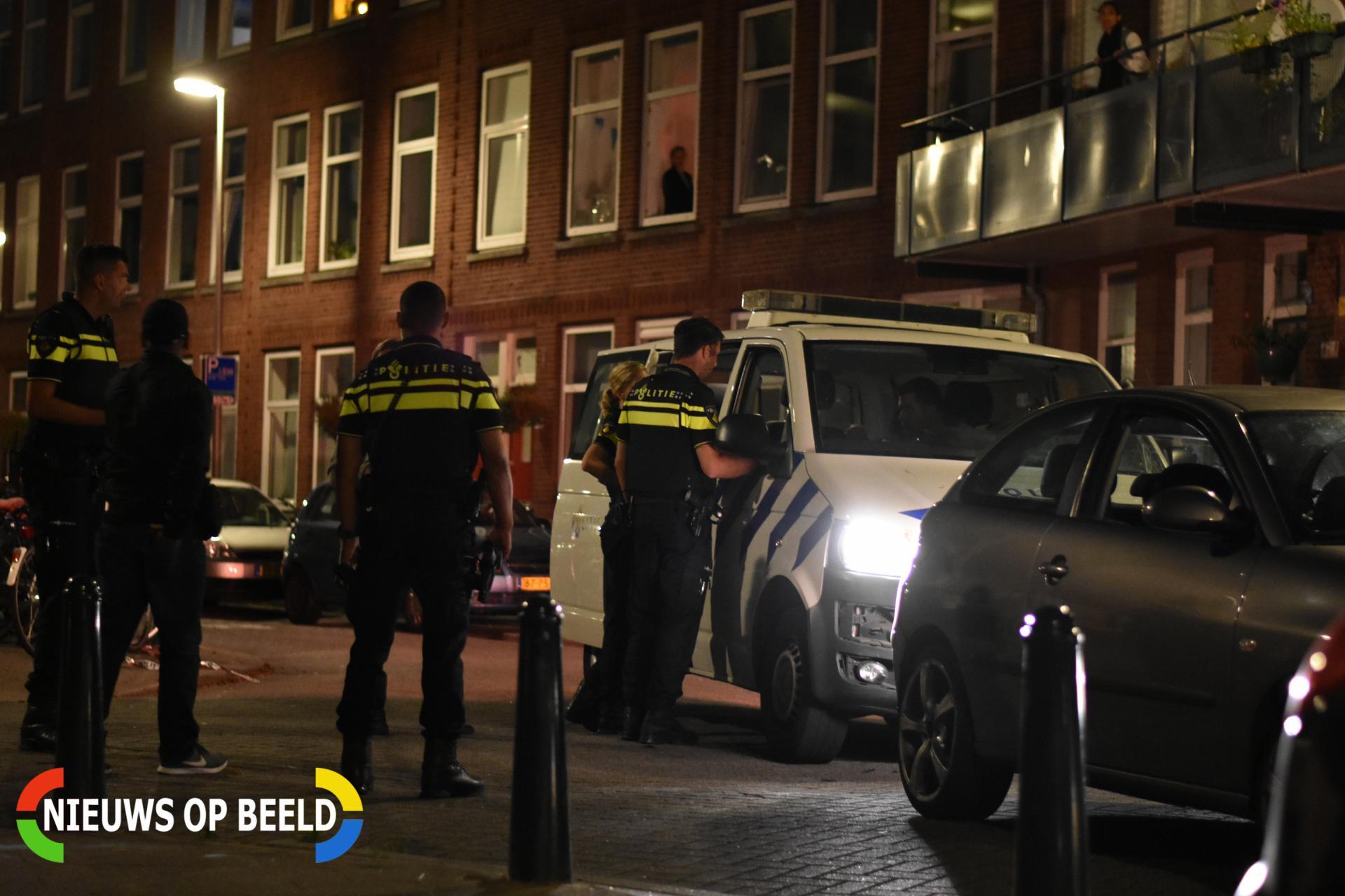 Aanhouding na achtervolging door Delfshaven eindigt op de Essenburgstraat Rotterdam