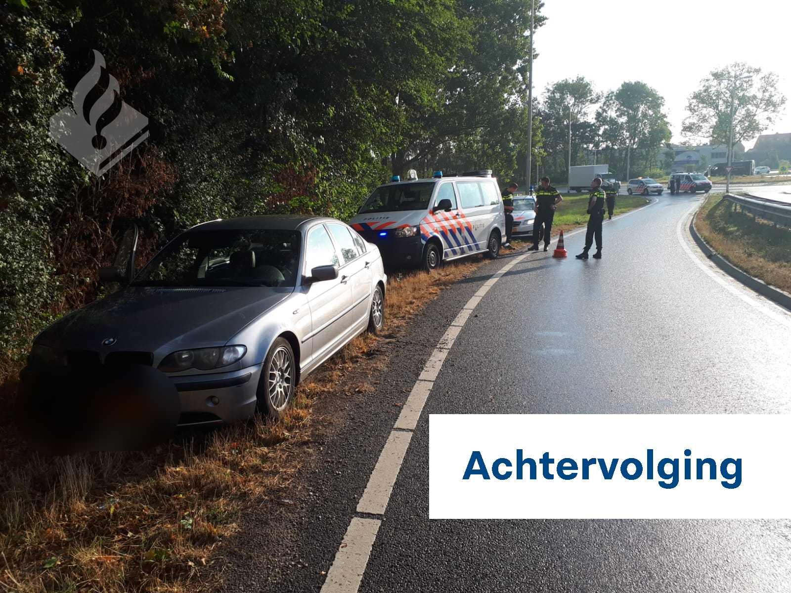 Politie houdt twee verdachten aan na stelen van bouwkraan Naaldwijk
