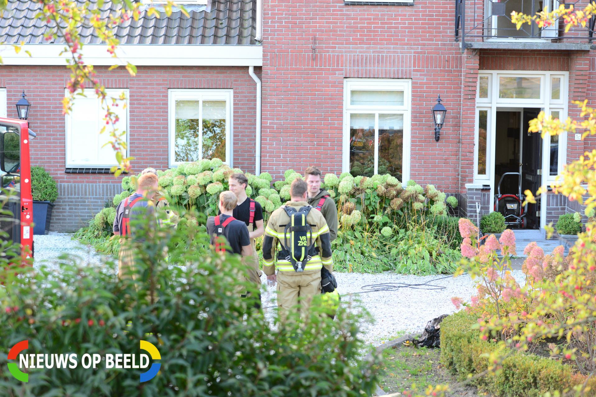 Brand in woning Smitsweg Klaaswaal