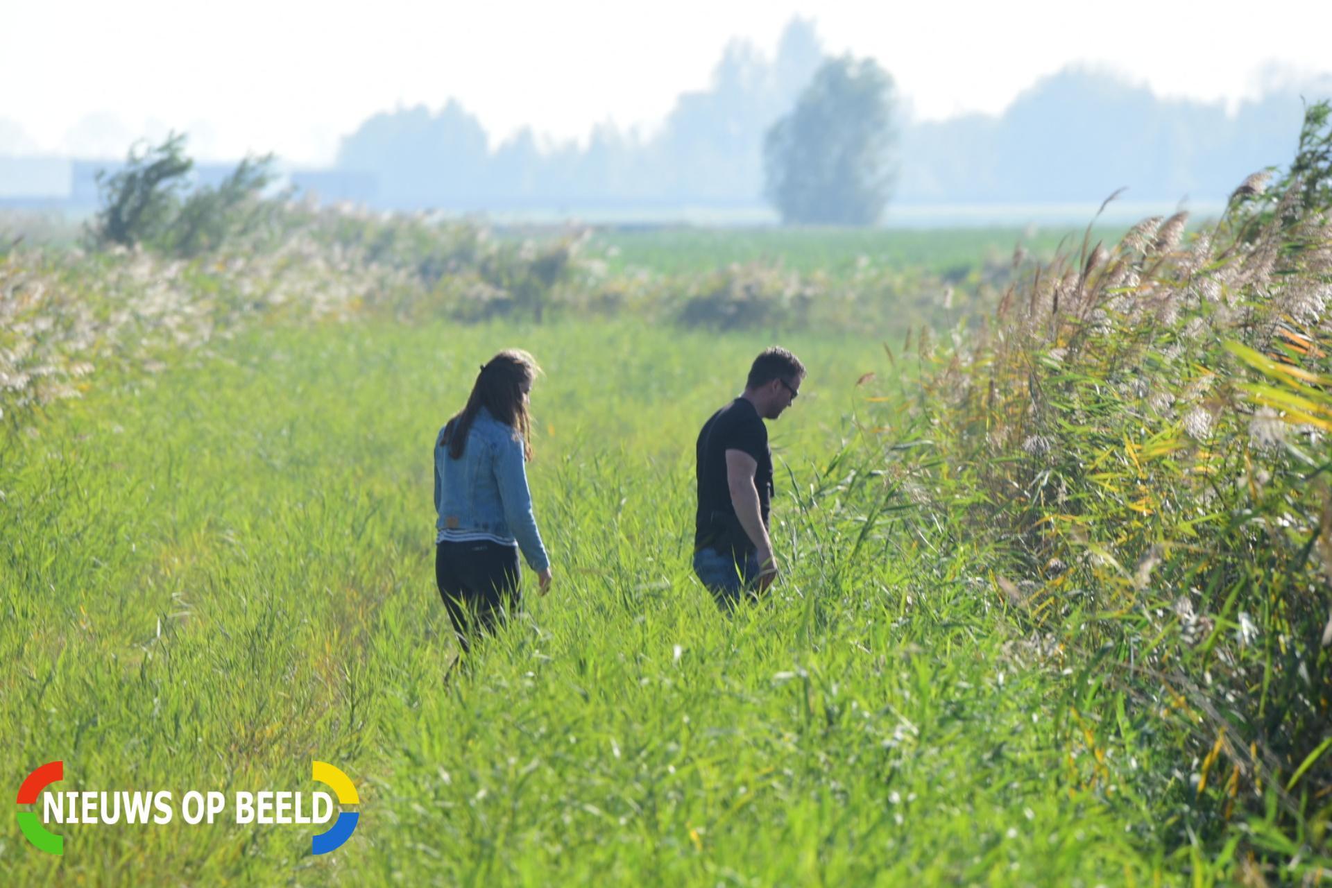 Politie op zoek naar vermiste Delftse vrouw in natuurgebied N217 Oud-Beijerland