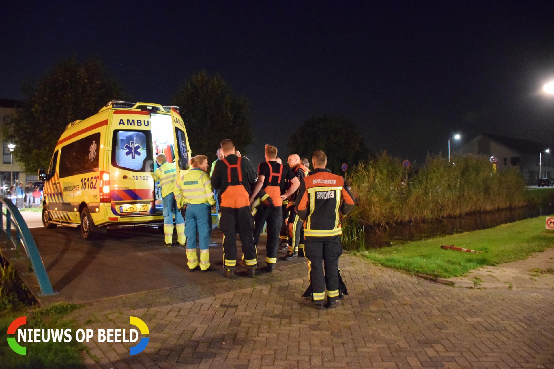 Personeel traumahelikopter ingezet bij medische noodsituatie Boomgaard Boskoop