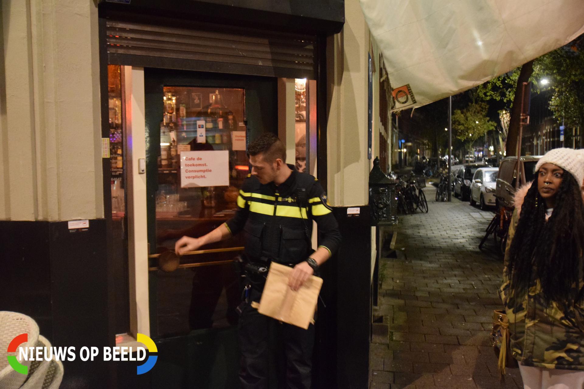 Vrouw in café bedreigd met mes Zaagmolenstraat Rotterdam