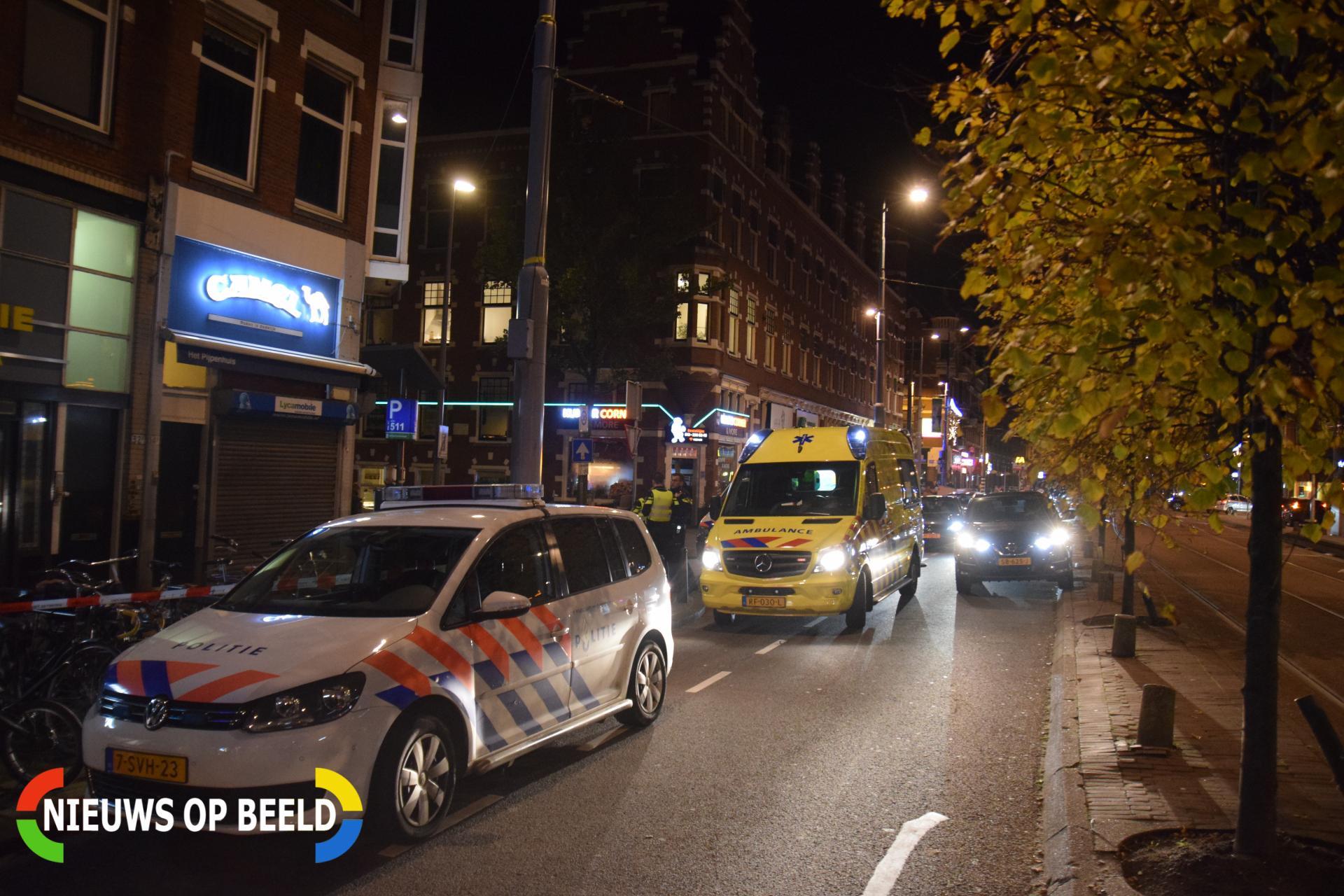 Persoon gewond na steekpartij Schiedamseweg Rotterdam