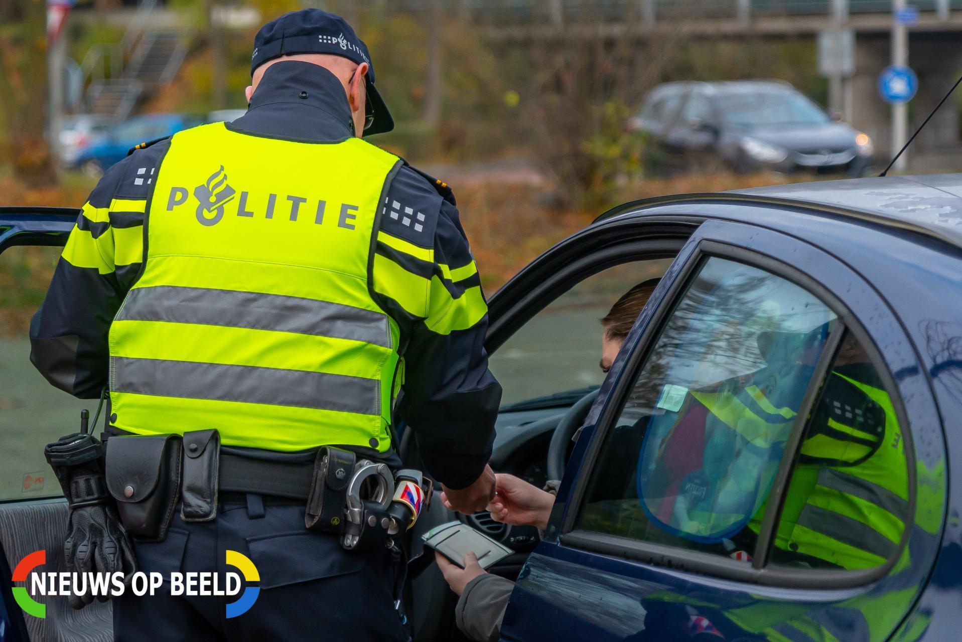 Bestuurder aangehouden met 110 liter pure amfetamine in voertuig