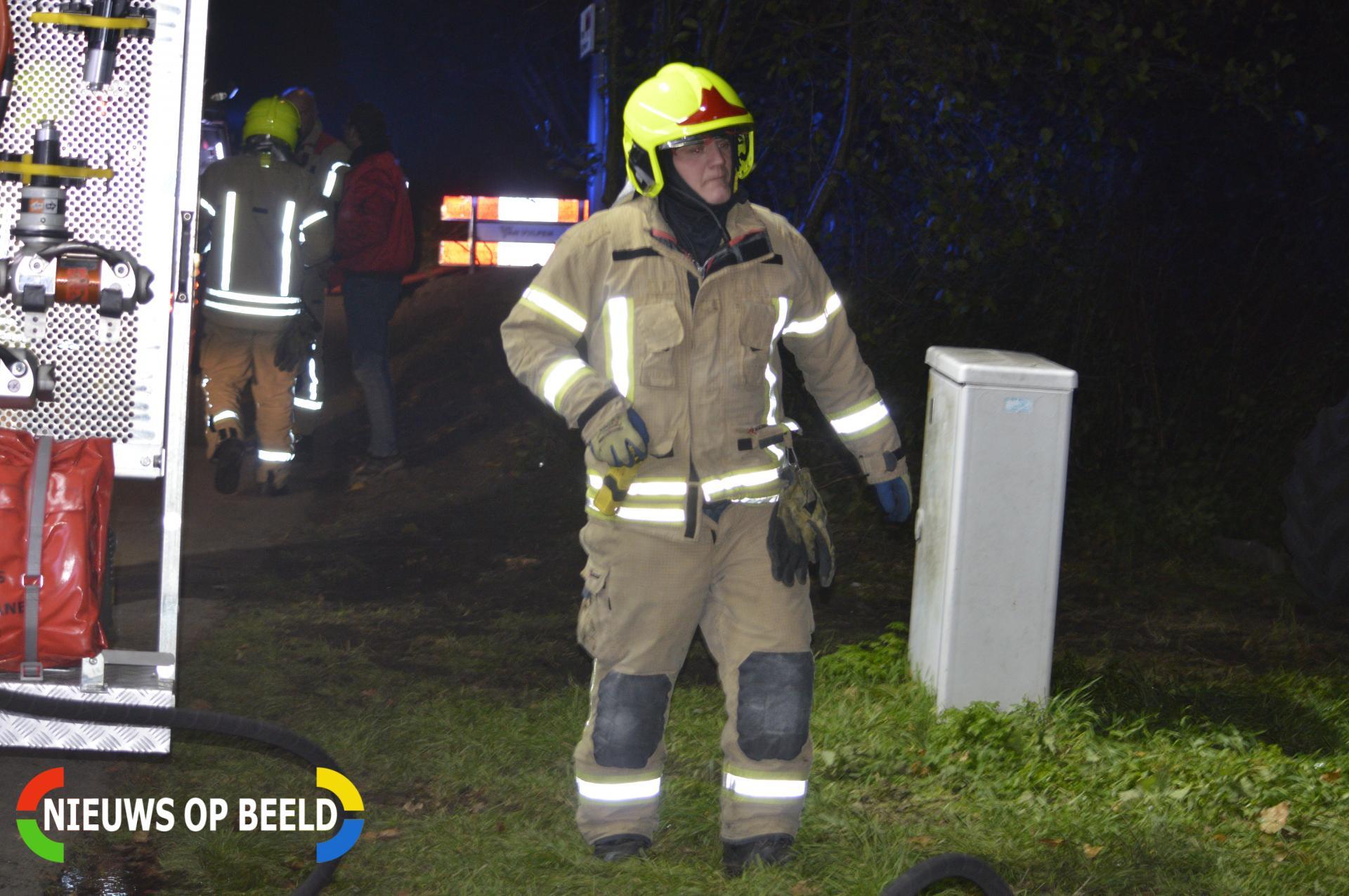 Brand in bouwkeet Bonfut Berkel en Rodenrijs