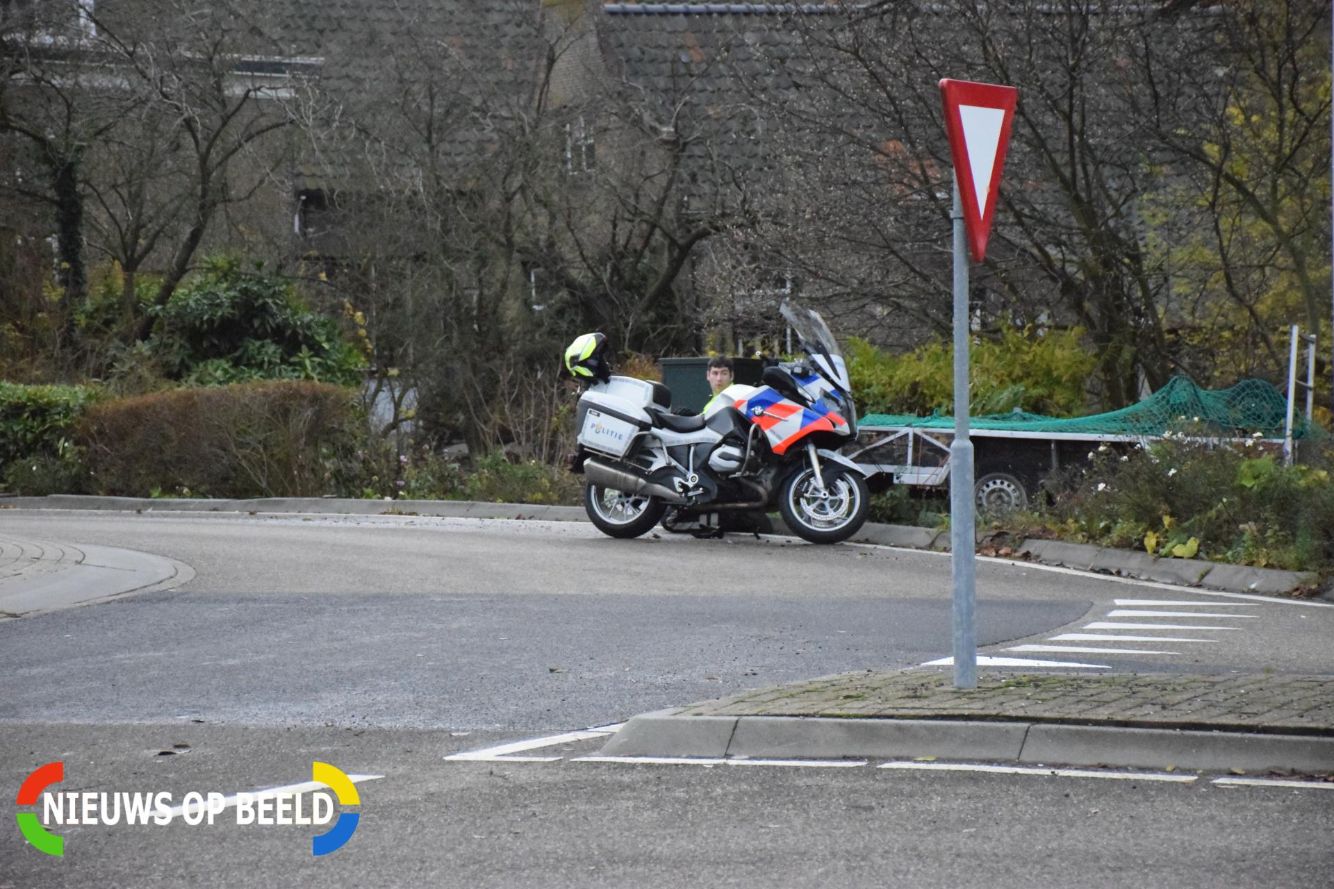 Man gewond aangetroffen bij rontonde Noordeinde – N455 Boskoop