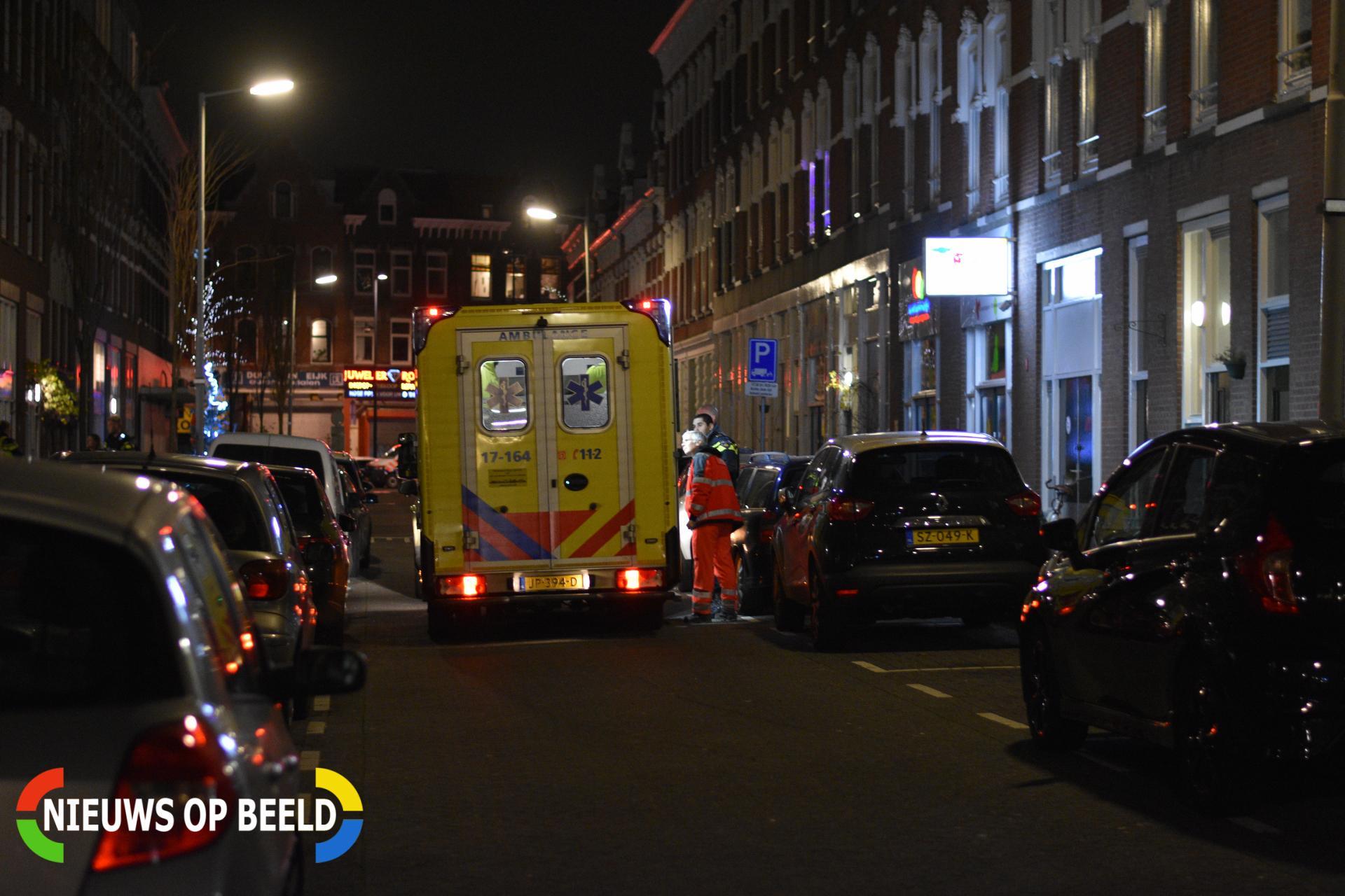 Gewonde na mogelijke overval Bellevoysstraat Rotterdam