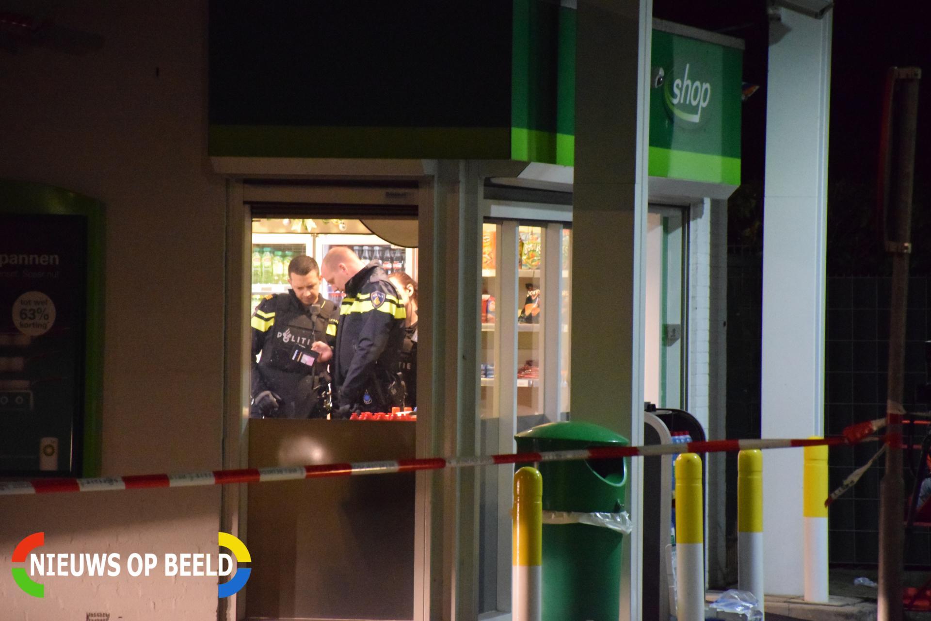 Politie doet onderzoek na overval tankstation Meerndijk Utrecht