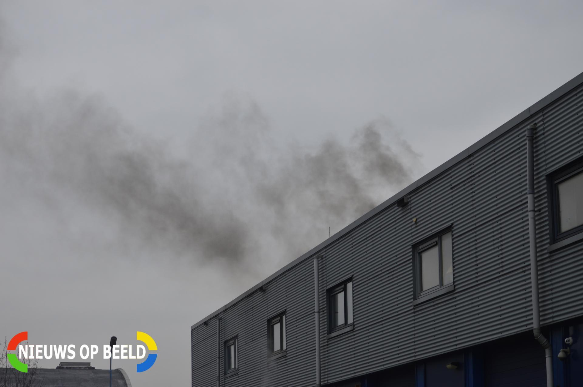 Brand in industrieel gebouw Boezemweg Pijnacker