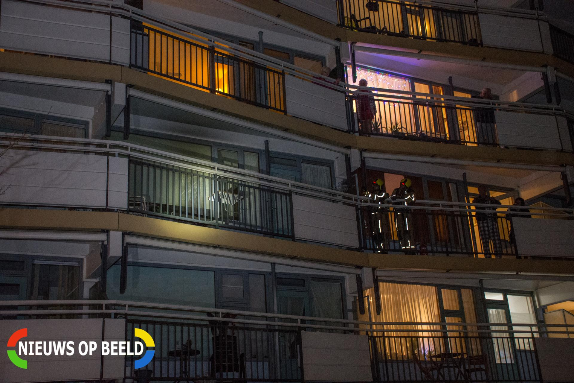 Brandje op balkon Prinses Margrietlaan Voorburg