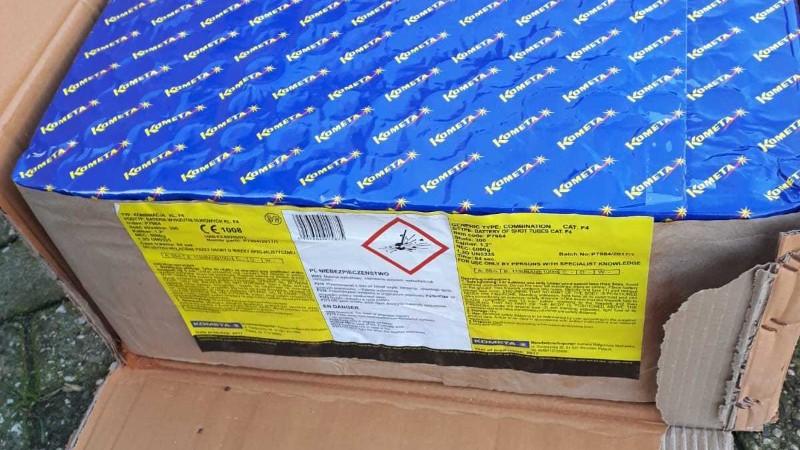 300 kilo illegaal vuurwerk in woning