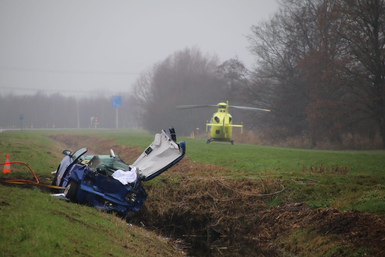 Vermoedelijk verkeersruzie aanleiding van fataal verkeersongeluk N210, politie zoekt getuigen