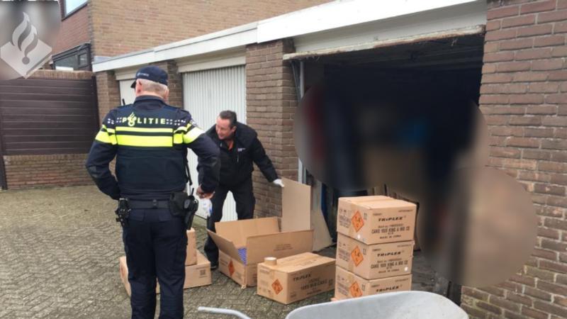 Honderden kilo's illegaal vuurwerk in beslag genomen