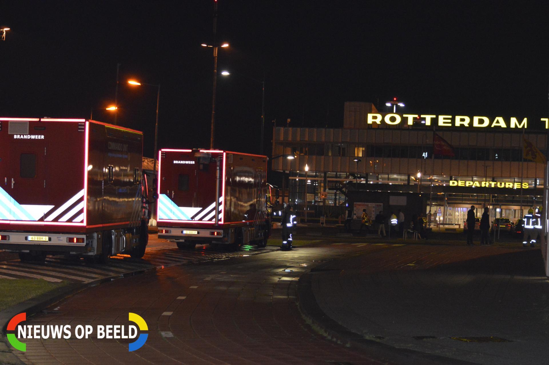 Tweehonderd uur werkstraf voor valse bommelding bij hotel nabij Rotterdam The Hague Airport