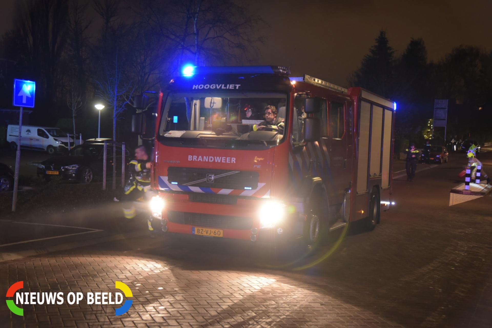 Veel rookontwikkeling bij grote brand in partycentrum Dorpsdijk Rhoon