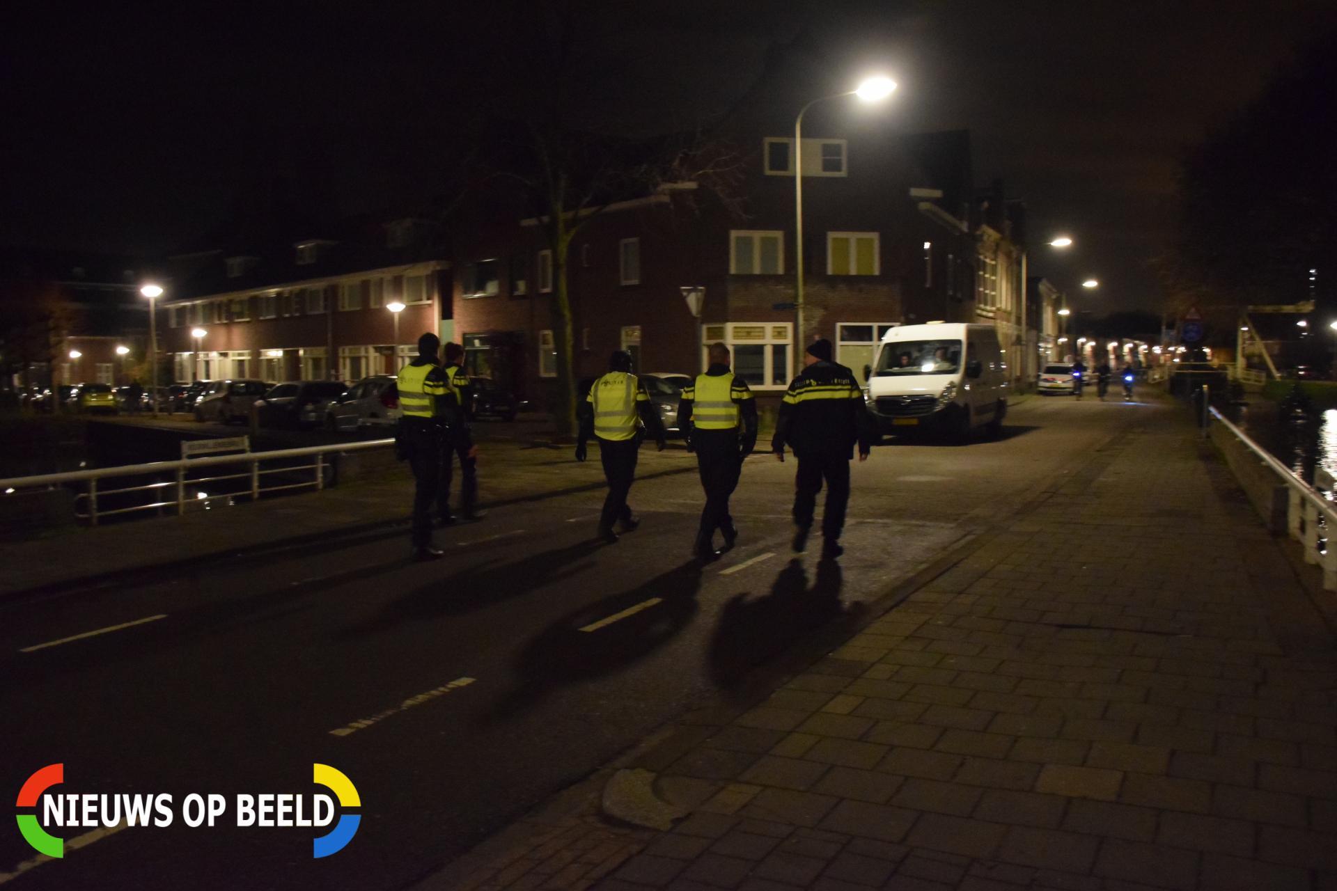 Man bedreigt feestende jongeren met jachtgeweer Joubertstraat Gouda