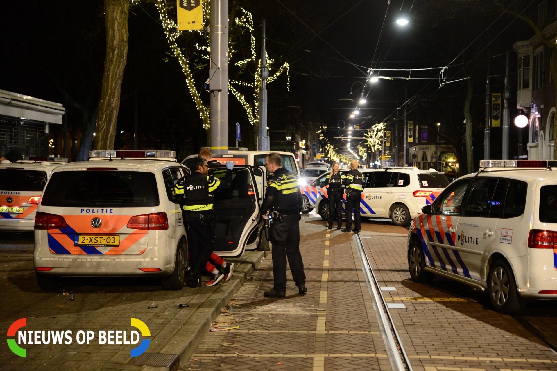 Zwaargewonde en meerdere aanhoudingen na schietpartij Nieuwe Binnenweg Rotterdam