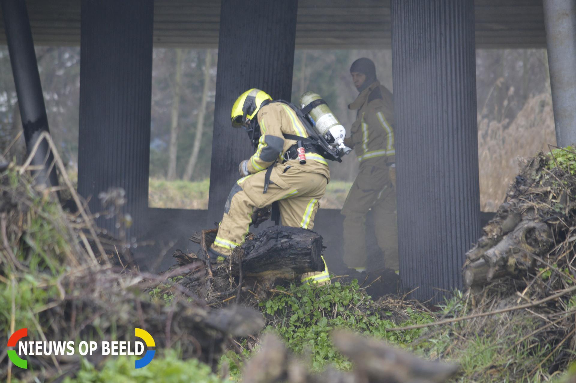 Buitenbrand door broei Meerweg Berkel en Rodenrijs