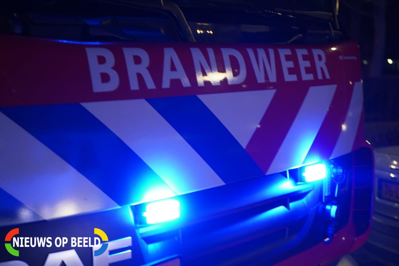 Brand in loods snel geblust Zekkenweg Hoek van Holland