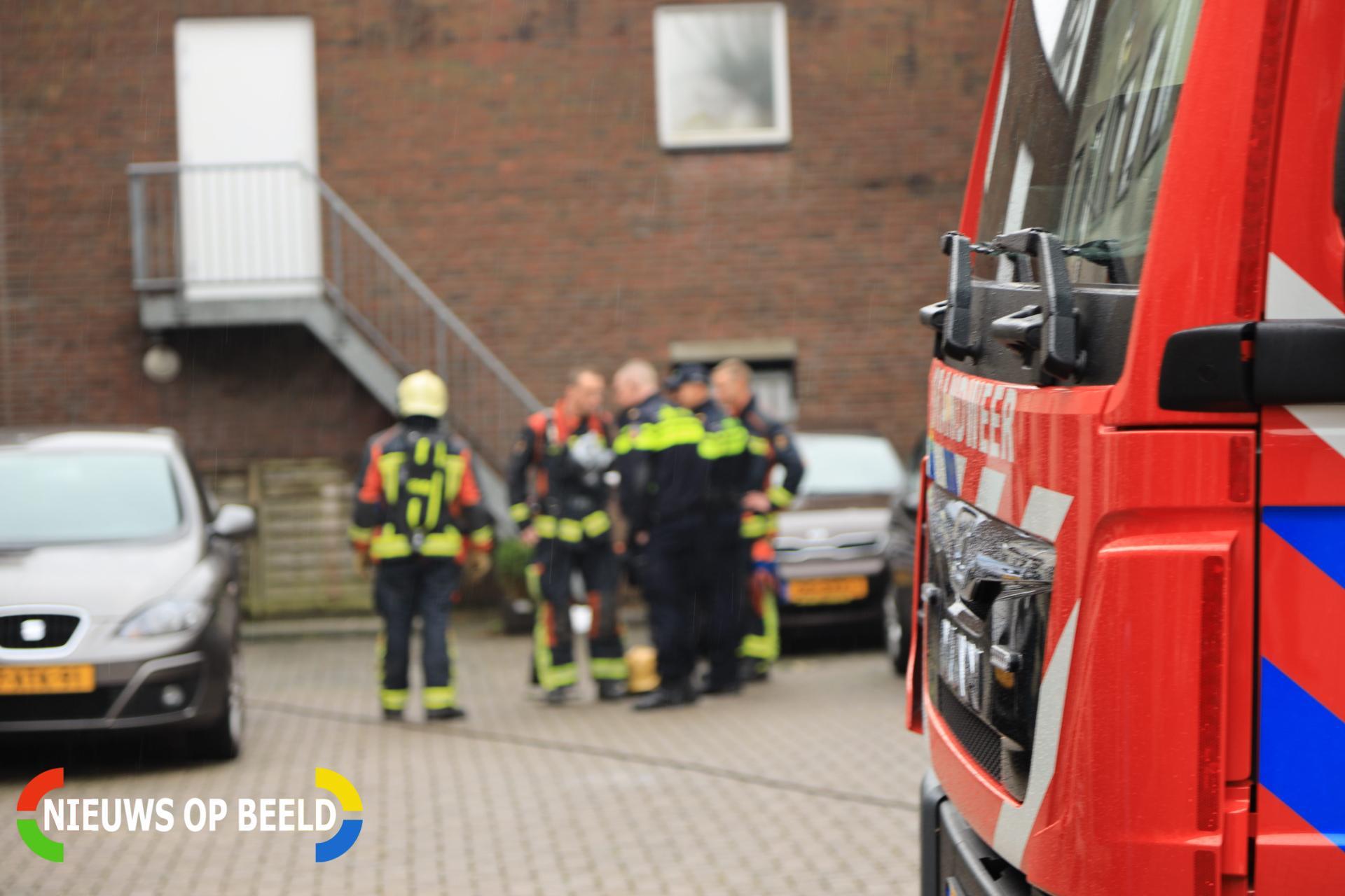 Stoppen doorgeslagen na brand in stekkerdoos Zuidkade Boskoop