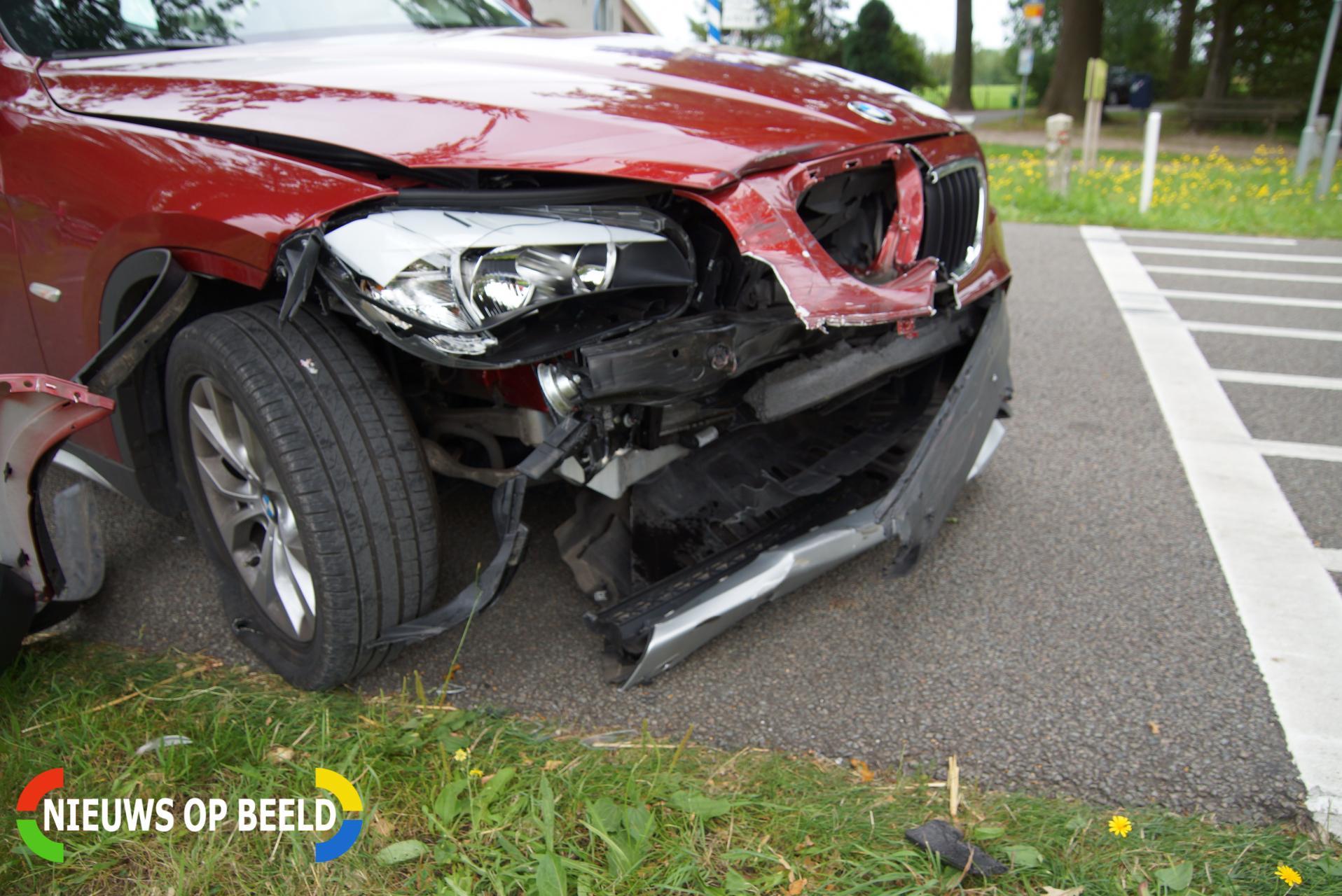 Automobiliste gewond na botsing N282 – Oosterhoutseweg Rijen
