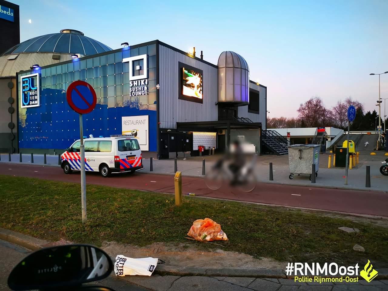 Politie Onderzoekt Melding Schietpartij Nabij Club Blu