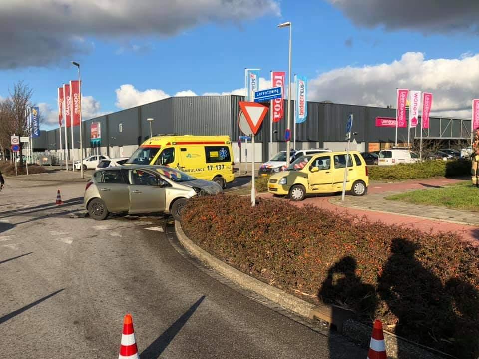 Gewonde na ongeval Lorentzweg Barendrecht