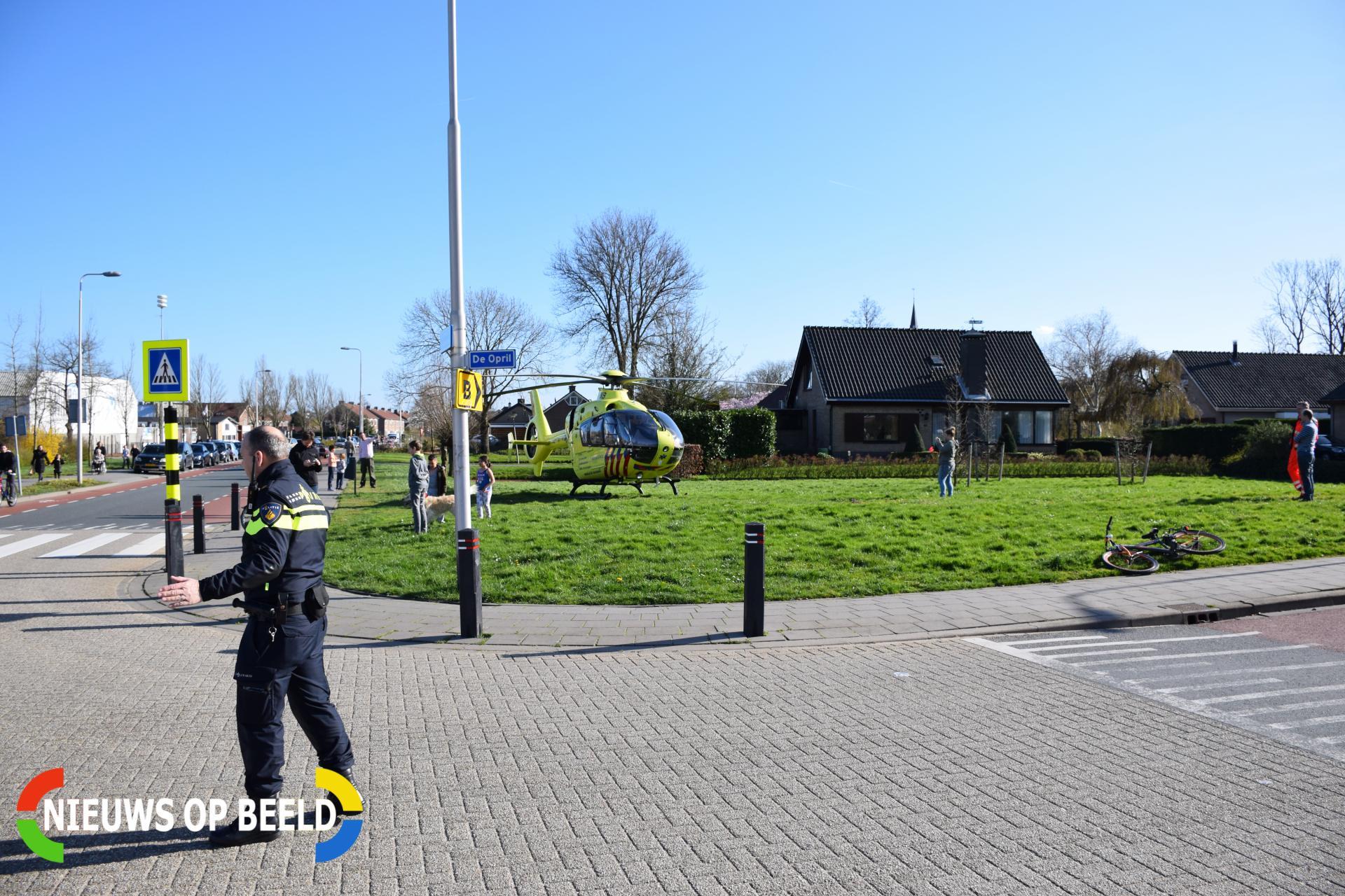 Fietser gewond na aanrijding met auto De Opril Zevenhuizen